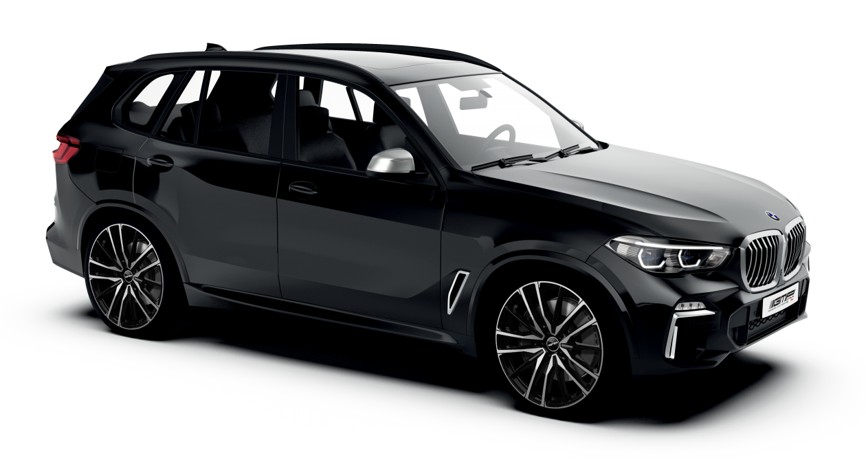 BMW X5 black with GMP Italia Sparta Black polish