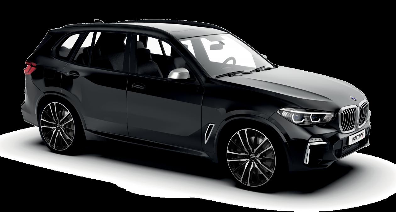 BMW X5 black with GMP Italia Sparta Black polish