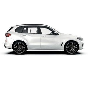 BMW X5 with Sparta Black polish