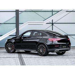 Mercedes with Stellar Black polish