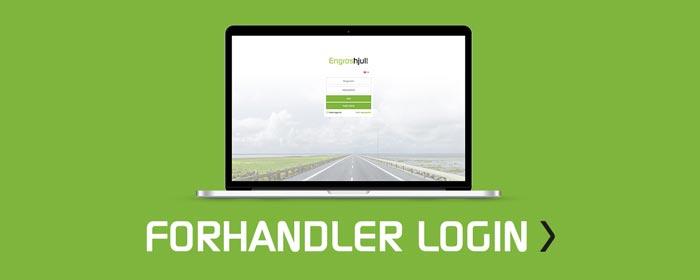 Forhandler-login